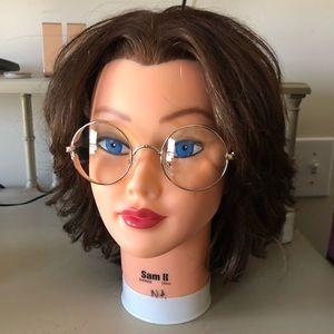 Fashion clear lens glasses